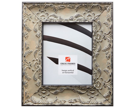 Craig Frames 10x12 Inch Antique Pewter Picture Frame Etsy