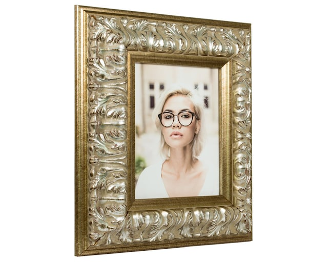 Craig Frames 24x36 Inch Antique Silver Baroque Picture Frame Etsy