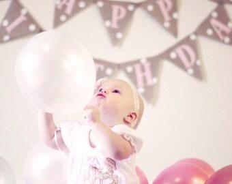 GIRL BIRTHDAY PARTY, Pink Birthday, Girl Birthday Decorations, Princess Birthday Banner, Birthday Banner Girl,