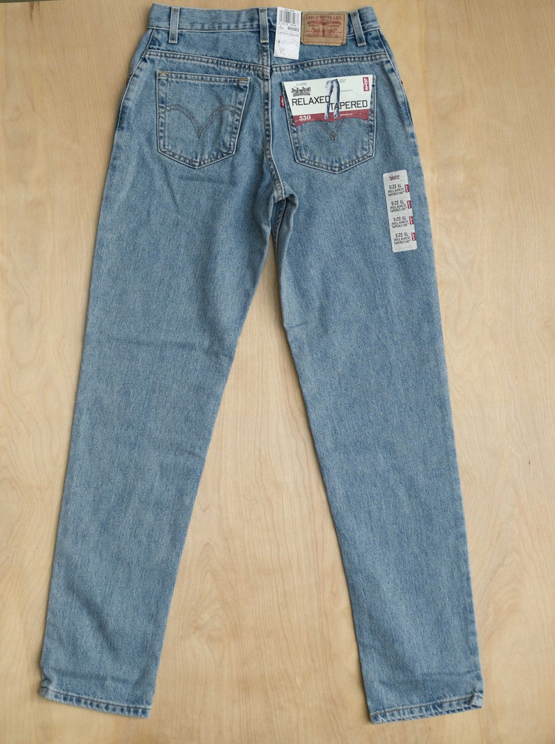 Levi/'s 550 6 Long High Waisted Mom Jeans
