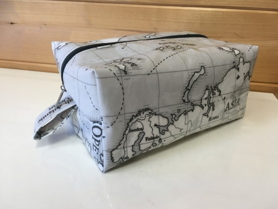 a4963ca4c20f Mens washbag Travel Washbag toiletry bag box pvc oilcloth