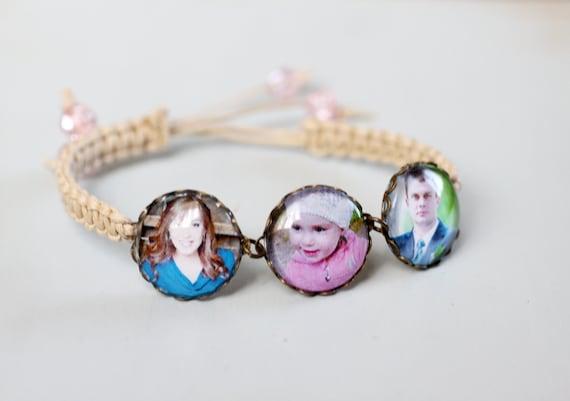 Custom Photo Bracelet - Personalized Jewelry - Picture Bracelet - Personalized Bracelet