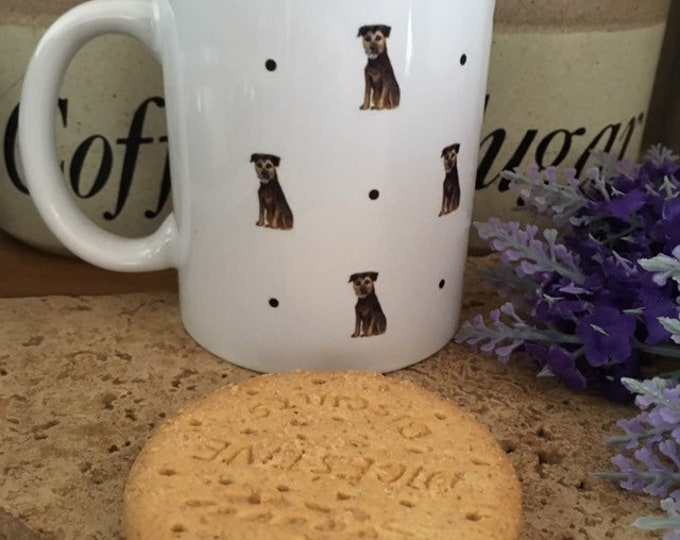 Border terrier mug, for border terrier lovers, border terrier gift