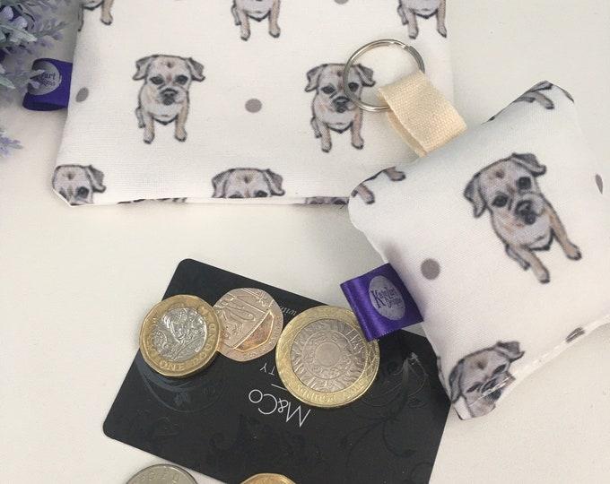 Border terrier, purse, coin purse, for border terrier lovers, border terrier gift, coin purse set