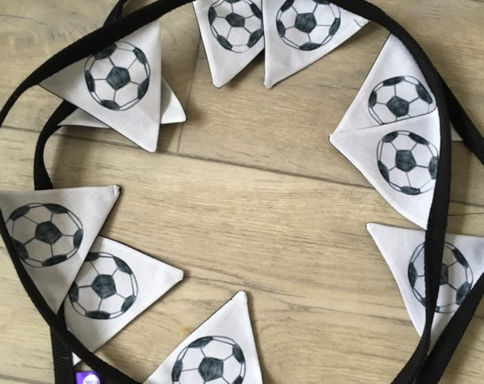 Football bunting, soccer bunting, for football lovers, for soccer lovers, football gift, soccer gift