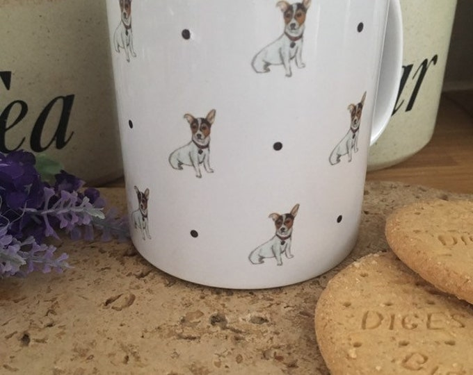 Jack Russell mug, for jack russell lovers, jack russell gift, for dog lovers