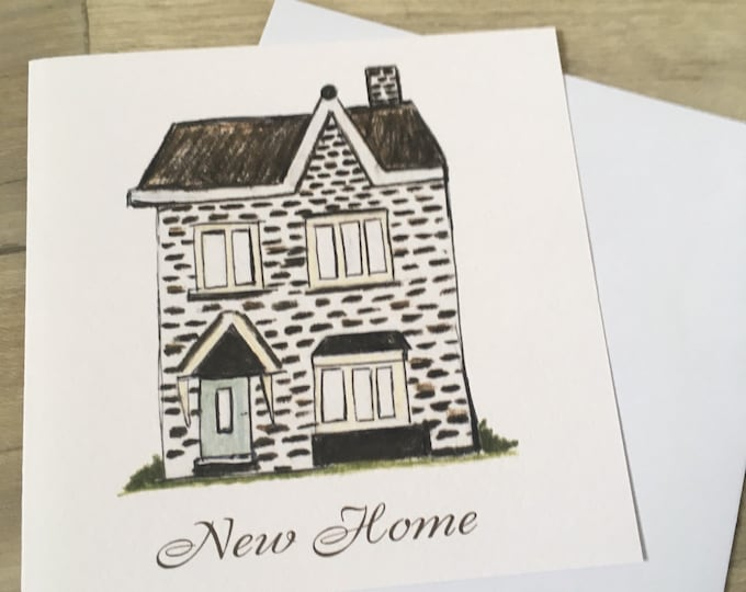 New home, new house, moving card, for new home owners, moving house cards