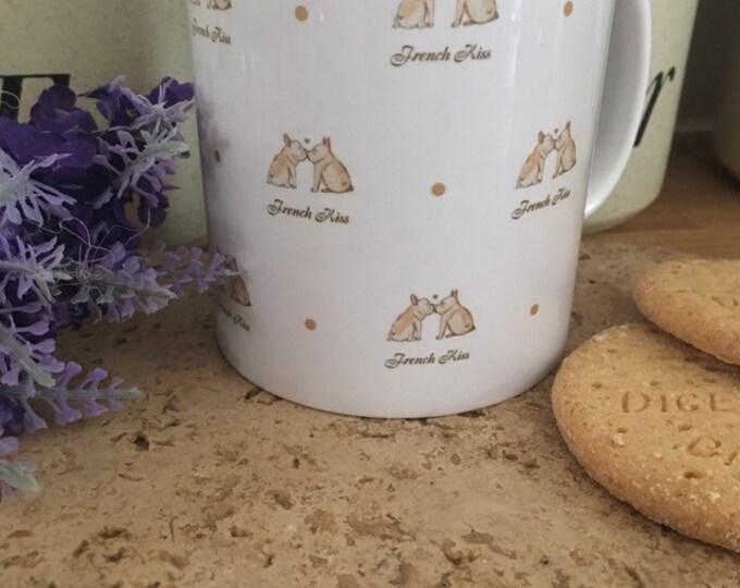 French bulldog mug, valentines mug, for french Bulldog lovers, french bulldog gift