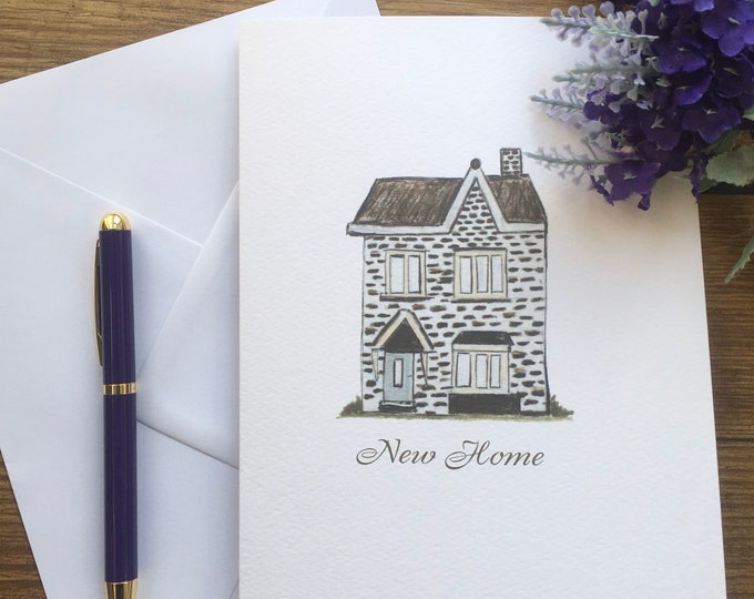 New home card, greetings card, for home owners, new home owner card, new home gift