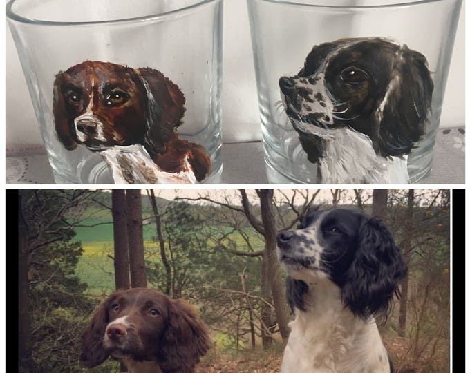 Pet portrait , whiskey glasses, whiskey tumblers, for dog lovers, for cat owners , for pet owners, for whiskey lovers