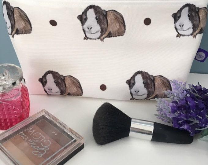 Guinea makeup bag, Cosmetics bag, for guinea pig lovers, guinea pig gift