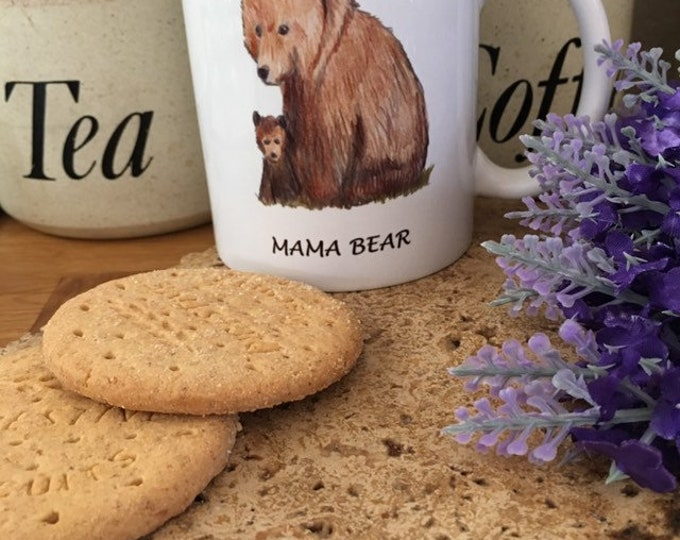 Mama bear mug, mother bear mug, for Mother's Day, Mother's Day gift, for bear lovers , bear gift