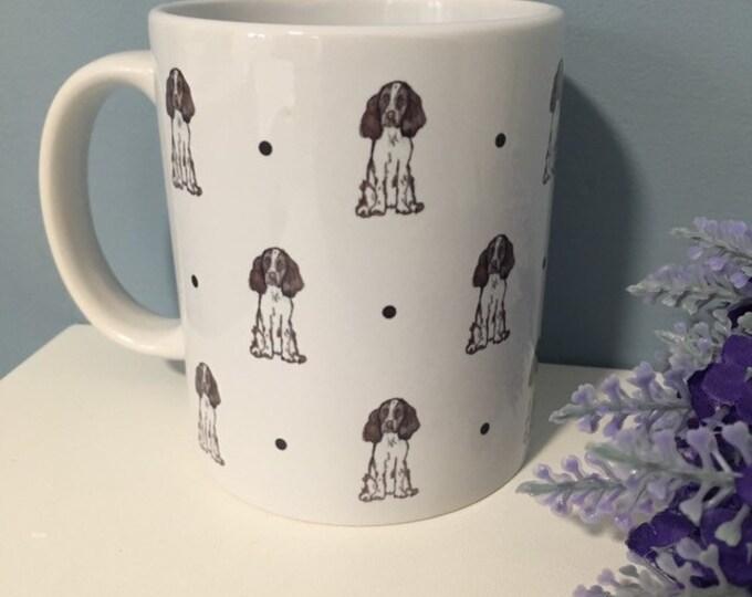 Spaniel, springer spaniel, mug, tea mug, for spaniel lovers, springer spaniel gift