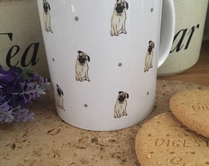 Pug mug, for pug lovers, pug gift, for dog lovers