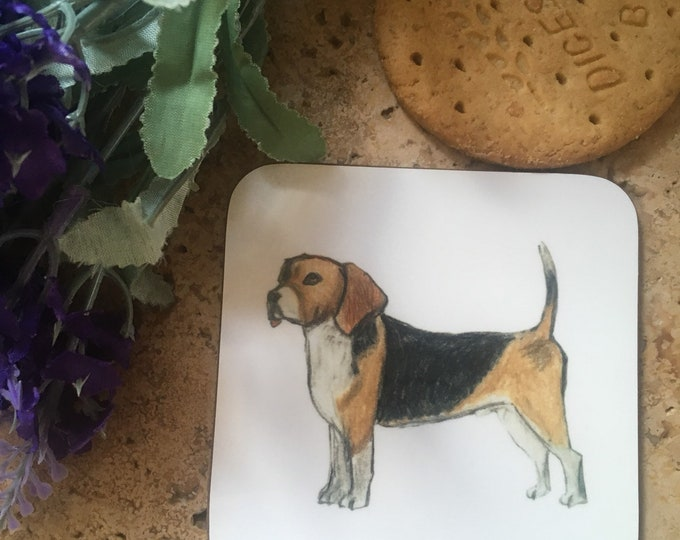 Beagle coaster, beagle gift, for beagle lovers , beagle dog