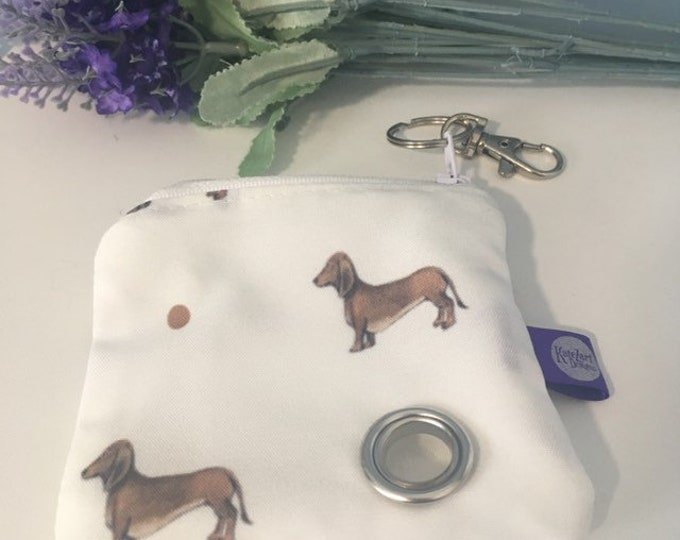 Poo bag holder, poop bag holder, bag storage, keyring, for dog owners, for dog lovers, dog gift, for dog walkers