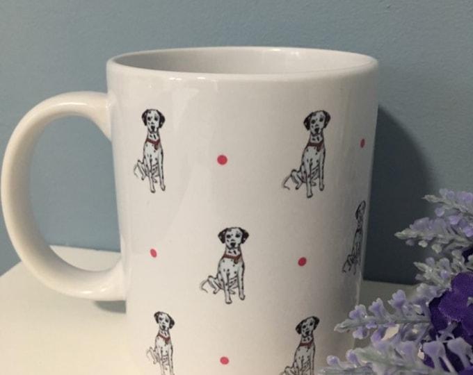 Dalmatian mug, tea mug, coffee mug, for Dalmatian lovers, Dalmatian gift