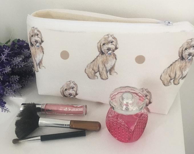 Cockapoo, cockapoos, makeup bag, cosmetics bag, for cockapoo lovers, for dog lovers, cockapoo gift