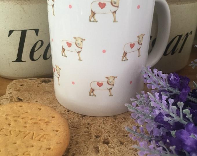 Sheep, sheep mug, for sheep lovers, for sheep farmers, sheep gift, tea mug, ceramic mug, sheep mug