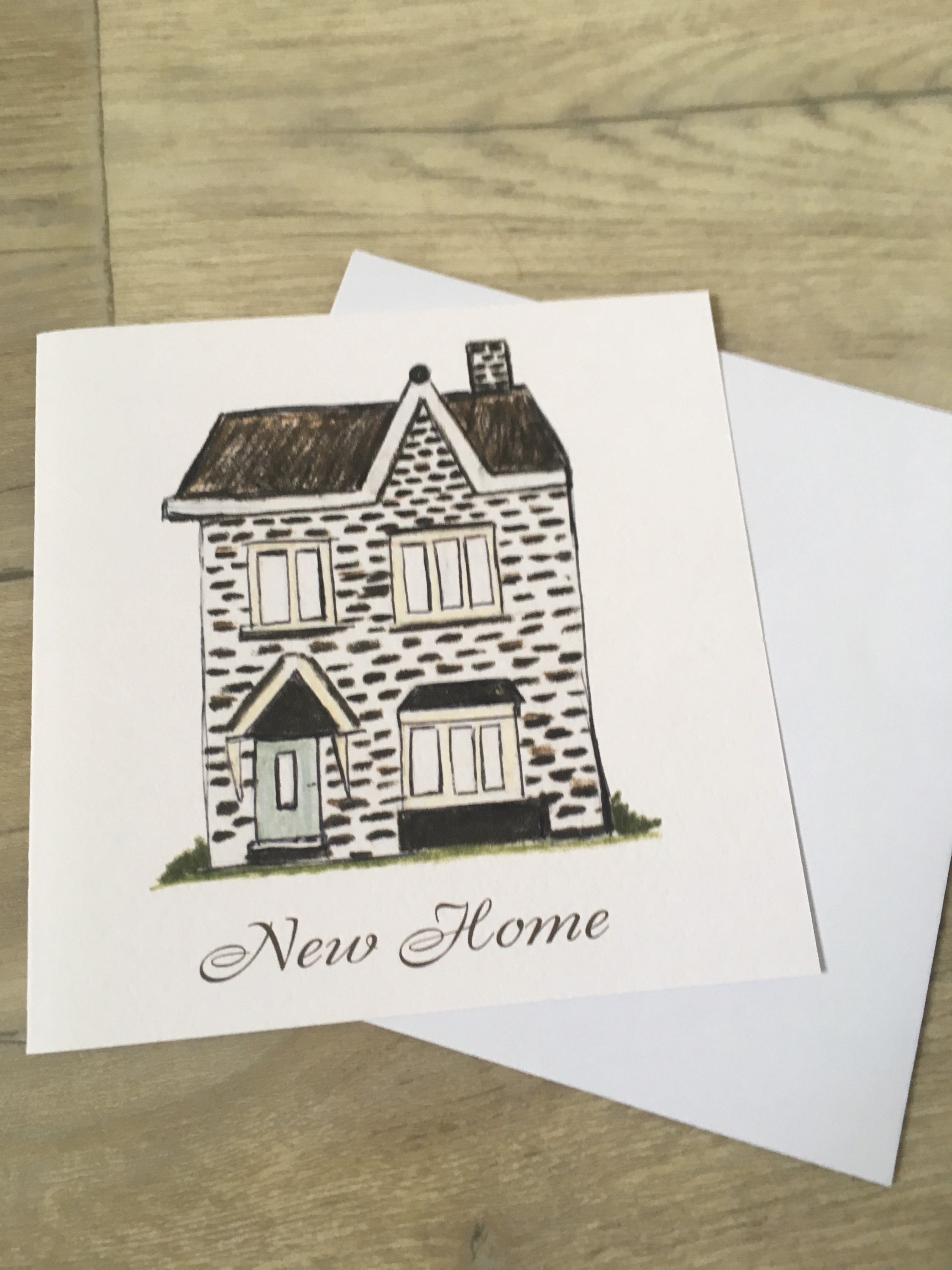 New Home New House Moving Card For New Home Owners Moving House