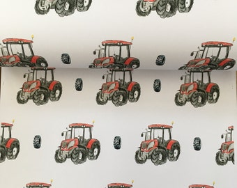 Tractor , wrapping paper ,gift wrap , for farmers , for tractor lovers, for Father's Day, read description