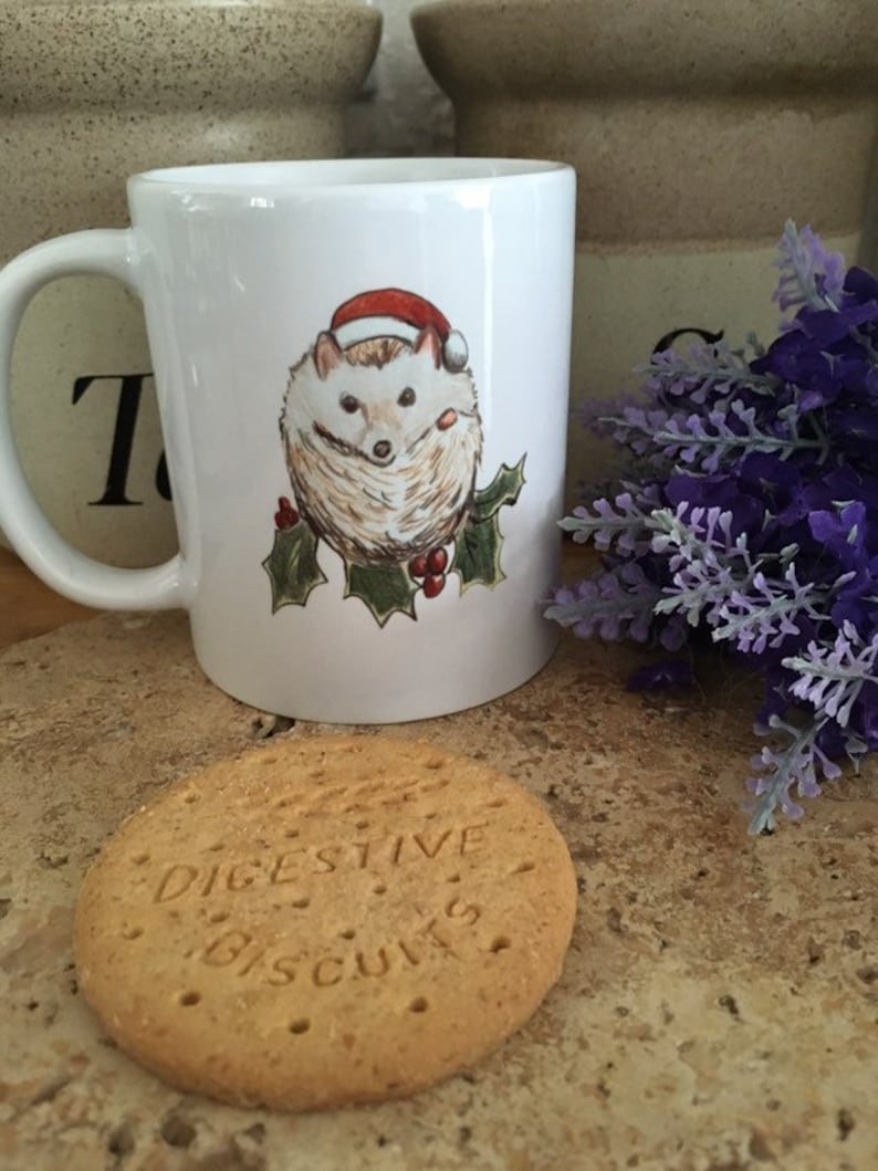 There is a matching Hedgehog Ceramic Mug Available. HEDGEHOG COASTER