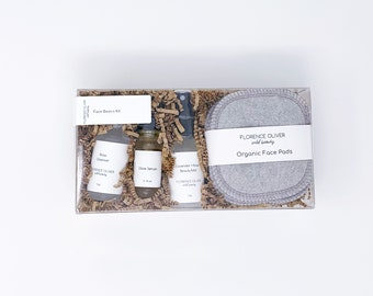 Basic Face Kit, Simple Daily Face Routine, Gift Box, Mother's Day Gift