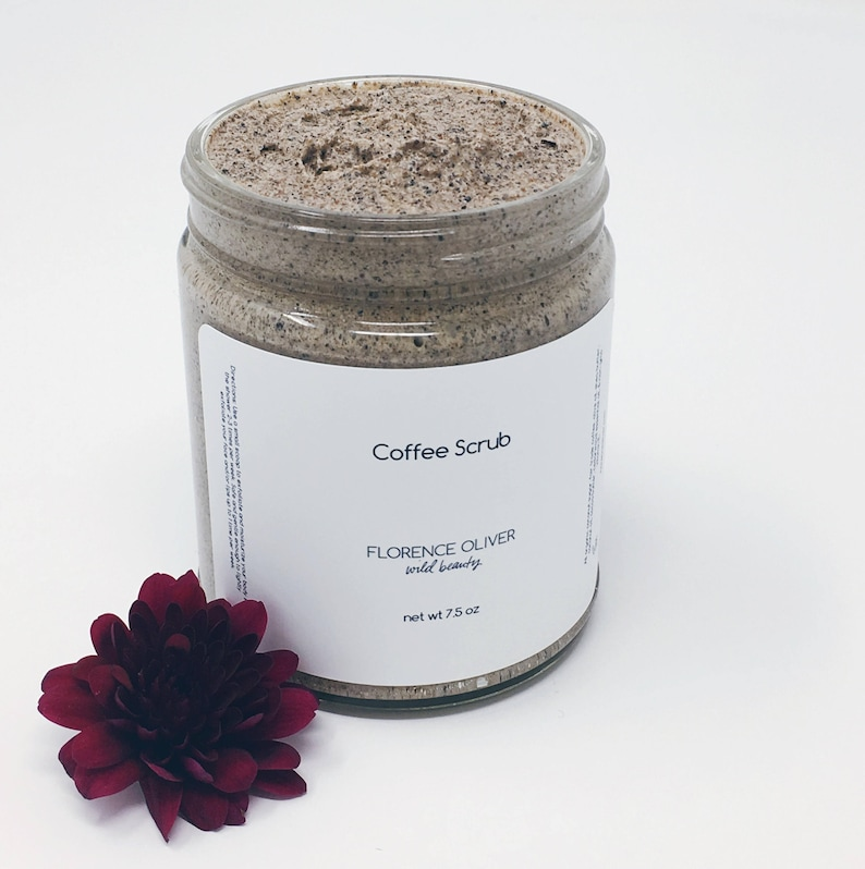 Coffee Body Scrub 9 ounce Coffee Scrub Coconut Sugar image 0