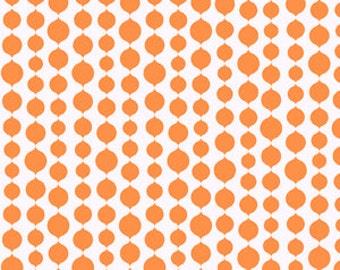 Full Moon Lagoon - Seaweed in Orange - Mo Bedell for Andover Fabrics - 6004-EO - 1/2 yard
