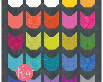 The Kittens in Sun Prints 2018 - Quilt Kit (Fabric Only) - PD_Kittens_AGSP2018