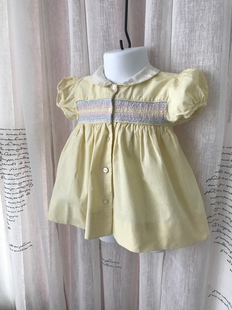 9 mos. Very Old Baby Dress
