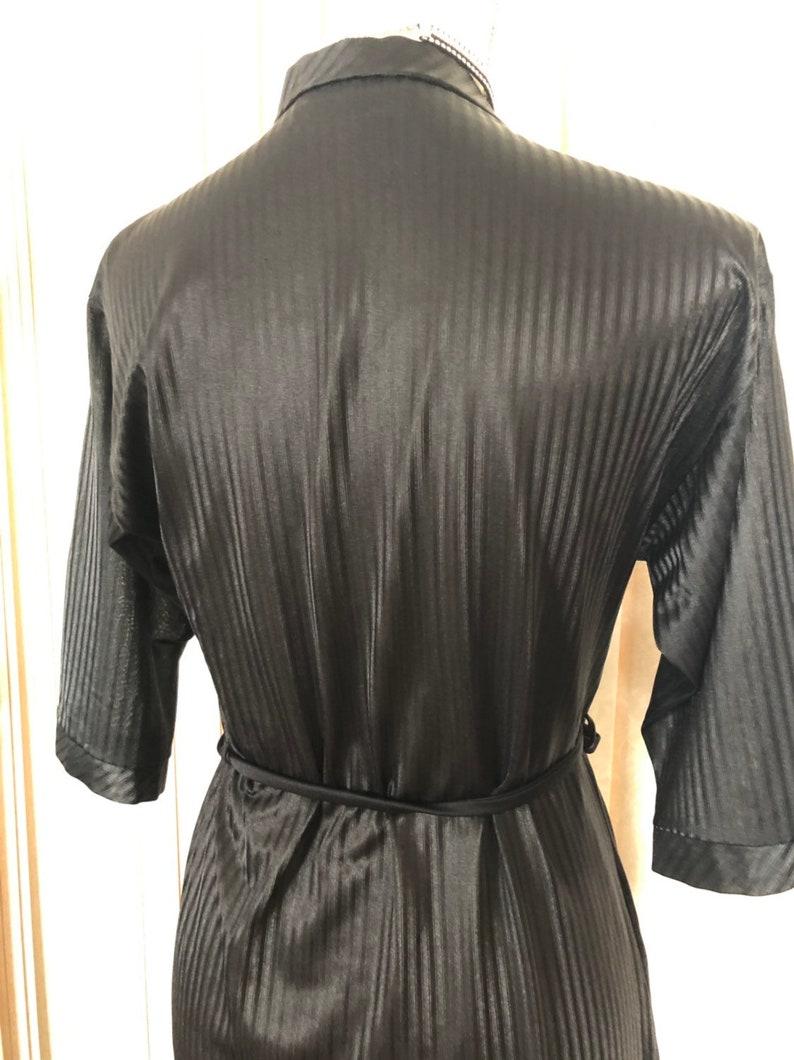 Vintage Komar Nylon Long Robe XS