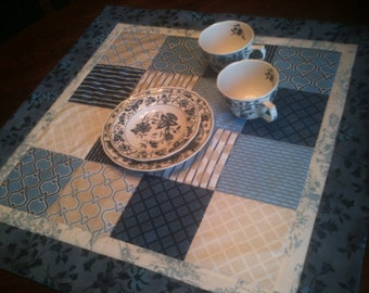 """Patchwork Table Topper 24"""" sq"""
