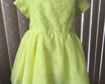 Vintage baby dress by Place, 9-12 mos.