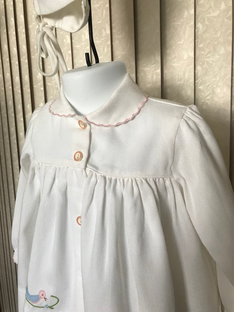 24 mos. Vintage Garment for Baby with Bonnet