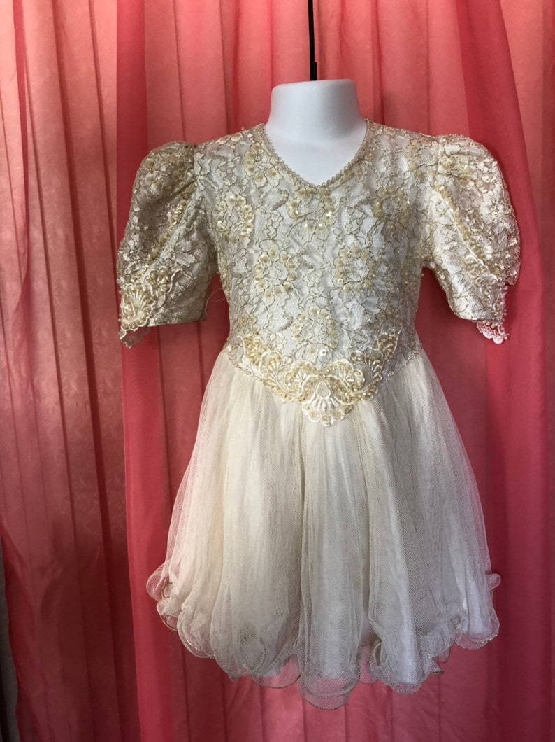 Vintage Pageant Kids Dress  size 4