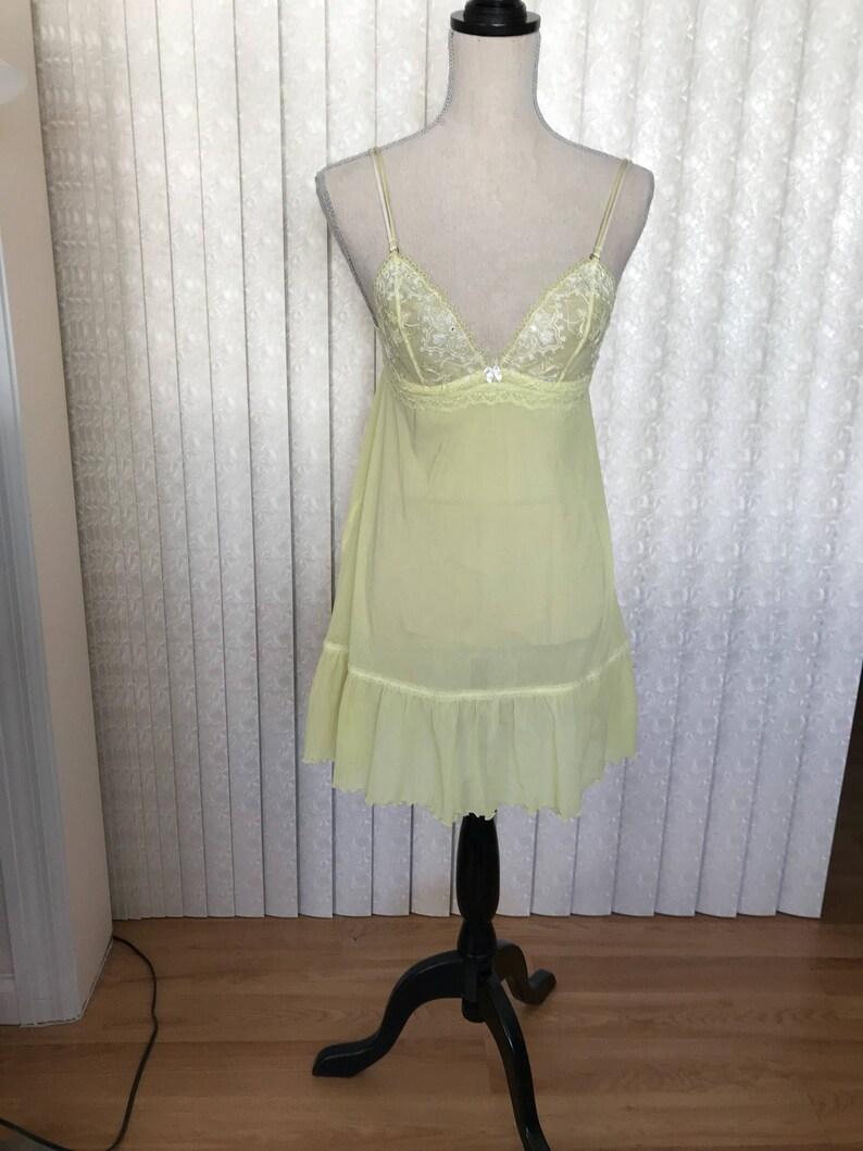 Victoria /'s Secret Lime Shade Teddy Medium