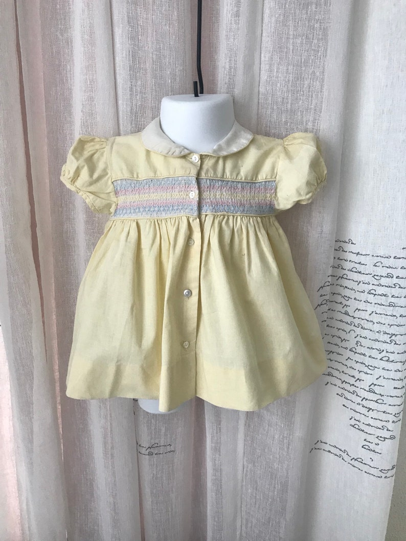 Very Old Baby Dress 9 mos.