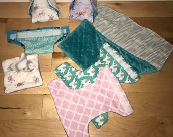 Doll Diapers - Cabbage Patch - Corolle - Baby Alive - Doll - listing is for ONE diaper