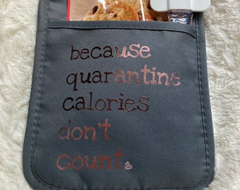 3 for 20 Dollars Special Custom Couture Snacking Potholder