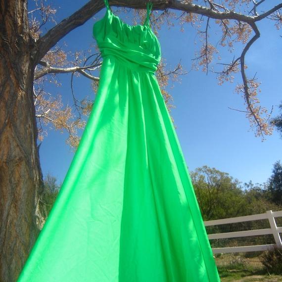 green goddess gorgeous ball gown - image 1
