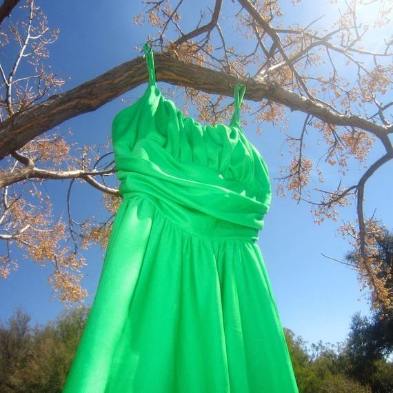 green goddess gorgeous ball gown - image 2