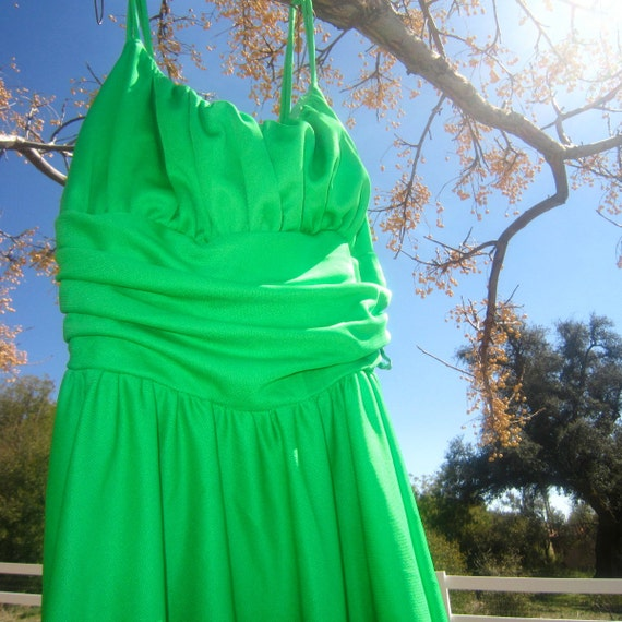 green goddess gorgeous ball gown - image 3