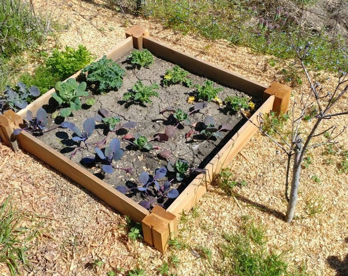 Featured listing image: Garden Planter in Rustic Redwood