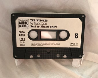 The Witches by Roald Dahl Cassette Tape Wallet