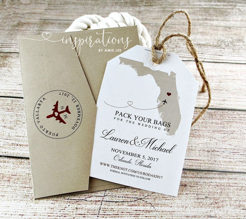 Save the date travel Travel theme Destination wedding save the date Airplane save the date cards Beach save the date template