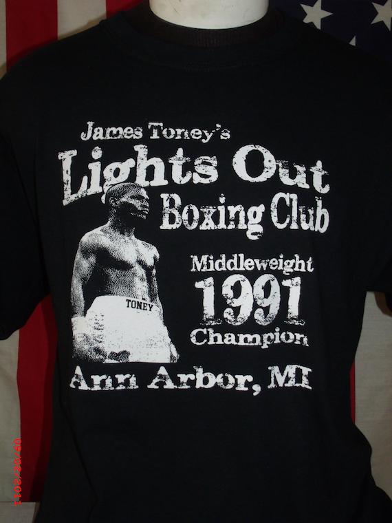 James Toney Tribute Boxing shirt