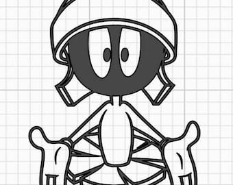 Adesivi Murali Looney Tunes.Looney Tunes Sticker Etsy