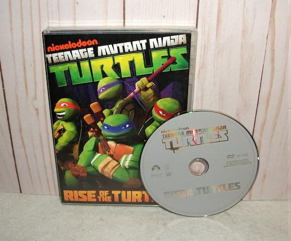 Teenage Mutant Ninja Turtles Rise Of The Turtles DVD