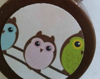 24 Baby Owl Chocolate Lollipops or Oreos